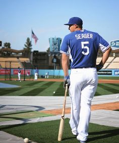 Los Angeles Dodgers  Corey Seager #5