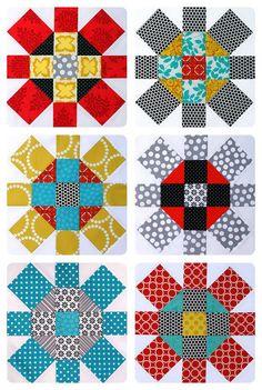 Labyrinth Quilt Pattern (PDF file). $8.50, via Etsy.