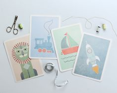 Teach your kids how to sew with our Sew a Picture Printables. With 8 cute-as-a-button cards to choose from they'll have fun completing every picture!