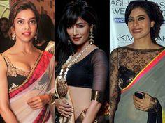 10 Sexy Celebrity Sari Blouses - Yahoo Lifestyle India  OMG