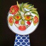 Instagram photo by @Charlotte Hamilton (Charlotte Hamilton) - #foodart #blueshineart#foodface #avocado #blueshineart