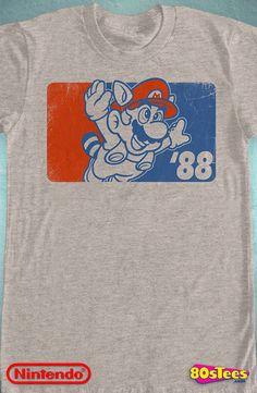 Super Mario Bros 88 Shirt: Super Mario Bros. Mens T-Shirt