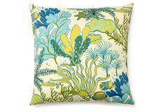 Sea Life 20x20 Outdoor Pillow, Multi on OneKingsLane.com