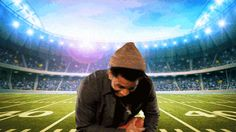 New party member! Tags: football superbowl trey songz