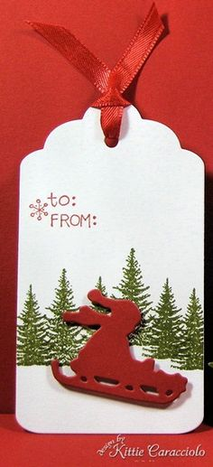 In the Meadow: KC Christmas Tags first