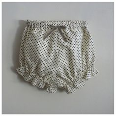 Culotte bouffante Gatsby. I love pindots.  Never out of style