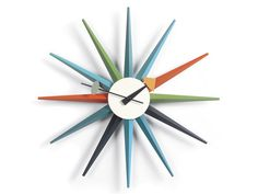 Buy the Vitra Sunburst Wall Clock online at Nest.co.uk
