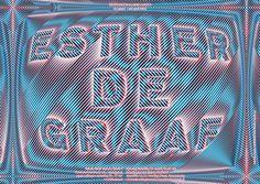 Galerie Block C poster for Esther de Graaf - www.hansje.net