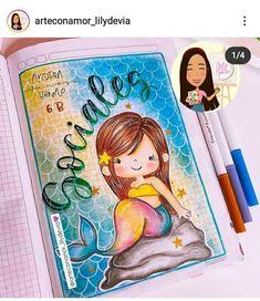 Cute Drawings, Origami, Lunch Box, Princess Zelda, Watercolor, Lettering, Social, Mermaids, Fictional Characters