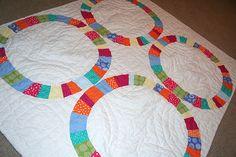 Baby clothes quilt design.