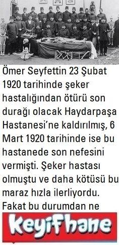 Ömer Seyfettin'in Acı Hikayesi #Ömer #Seyfettin #Hikaye #Edebiyat Ale, Islam, Ale Beer, Ales, Beer