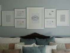 Master bedroom love story on display