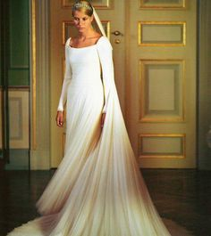 Princess Mette Marit wedding dress ~Norway king wedding