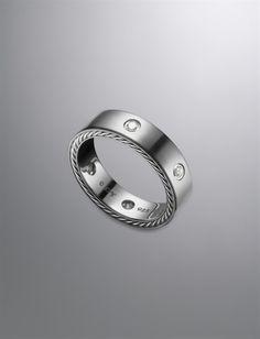 Streamline®; Ring, Diamonds, 6mm