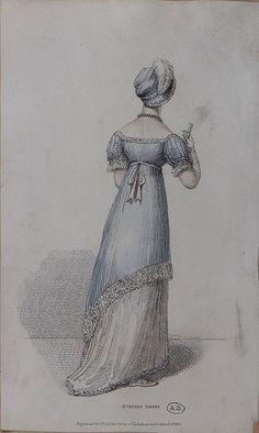 Such elegant lines. Belle assemblee 1814