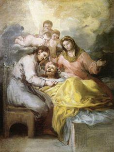 Sketch for The Death of Saint Joseph - Francisco Goya