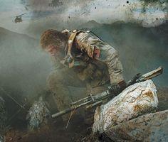 """Lone Survivor"" com Mark Wahlberg teve divulgado um novo cartaz - Cinema BH Marcus Luttrell, Warrior Spirit, Warrior Quotes, Taylor Kitsch, Military Quotes, Military Life, Military Art, Mark Wahlberg, Special Ops"