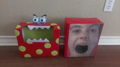 The boys Valentine's Day boxes for school