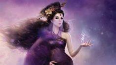 purple color art 3D