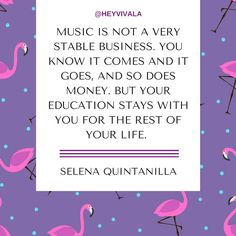 http://www.vivala.com/career/motivational-selena-quintanilla-quotes/5770/On the…