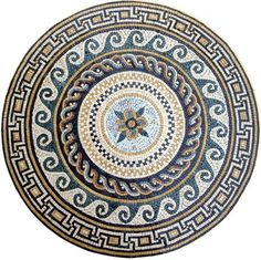 Mosaic Designs, Mosaic Patterns, Pattern Art, Mosaic Wall, Mosaic Tiles, Wall Tile, Tiling, Mosaic Art Projects, Plaster Sculpture