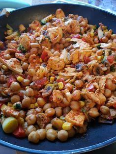 Vegan Vegetarian, Vegetarian Recipes, Sambal Oelek, Low Carb Recipes, Healthy Recipes, Quorn, Halloumi, Jambalaya, Kung Pao Chicken
