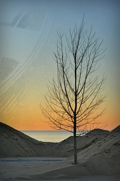 Sand Drifts, Indiana Dunes National Lakeshore, Chesterton, IN.  Photo: SannePhotos via Flickr