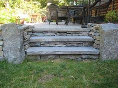 basalt paver steps - Google Search