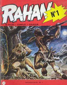 Rahan #1 - Le Coutelas d'Ivoire / Le Dieu Mammouth (Issue)