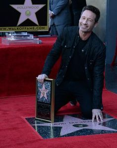 David Duchovny gets a star on the Hollywood Walk of Fame - Photos - UPI.com