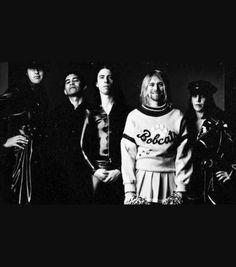Kurt Cobain in Nirvana Grunge King