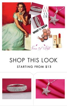 """""""SenseofStyle-Jewelry for Expensive Taste!"""" by lejla150 ❤ liked on Polyvore featuring beauty and Yves Saint Laurent"""