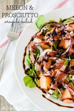 Melon Prosciutto Salad - The Lilypad Cottage