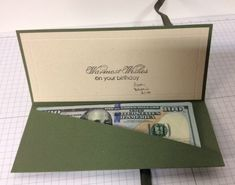 Inside money holder For You by stegsinfo - Cards and Paper Crafts at Splitcoaststampers