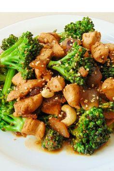 brocoli pollo chino