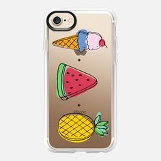 Casetify iPhone 7 Case and Other iPhone Covers - Summer Treats by Megan Roy | #Casetify