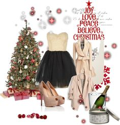 """""""x-mas teen outfite"""" by daisha1001 on Polyvore"""