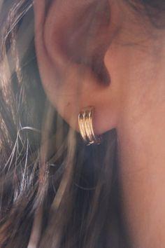 Argola simples dourada - Comprar em Cris Degan joias