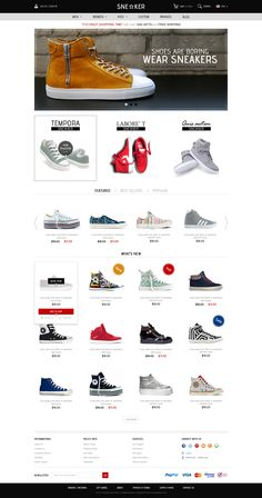 Opencart Fashion Shoes Store - Sneaker | Demo, Buy and Download: http://themeforest.net/item/opencart-fashion-shoes-store-sneaker/7008703?WT.ac=category_thumb&WT.z_author=tvlgiao&ref=ksioks