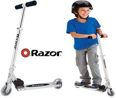 The Razor A Kick Scooter green is a leading quality well designed cheap scooter are the best scooters for boys and girls with lightweight aluminum construction. Best Scooter For Kids, Kids Scooter, Cheap Scooters, Kids Ride On Toys, 12 Year Old Boy, Old Boys, Cool Kids, Boy Or Girl, Kicks