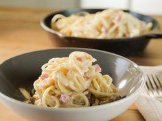 Country Ham Carbonara recipe from Trisha Yearwood via Food Network