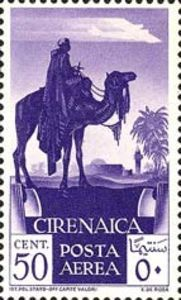 1932 (Italian Colonies, Territories and Occupations) Cirenaica