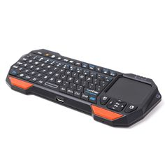 4930033fe4e Imikoko® Universal Mini Bluetooth Keyboard With Touchpad for Android iOS  Windows - Black