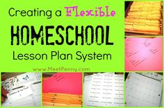 How to create a flexible lesson plan system to work around unexpected days and impromptu field trips