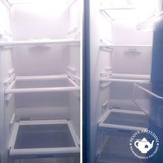 Frigorifero pulito Top Freezer Refrigerator, Kitchen Appliances, Home, Diy Kitchen Appliances, Home Appliances, Ad Home, Homes, Kitchen Gadgets, Haus