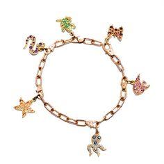 Dodo's (Pomellato) rainbow charm bracelet
