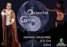 GIRO ORIENTAL com Kelly Orianah – Entrevista com Carlos Crede Virtual Community, Online Web, Cybergoth, Oriental, Indie, Music, Movie Posters, Life, Ballerina