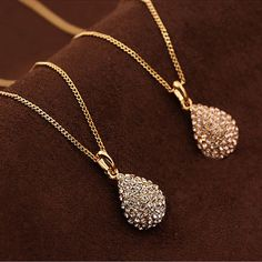 Women Fashion Gold Silver Plated Crystal Pendant Long Chain Statement Necklace  Price : 0.79  Ends on : 2 weeks  View on eBay
