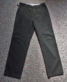 Columbia sz 8 Khaki Green 100% Cotton Hiking Casual Pants 30X29 Granite Cloth #Columbia #CasualPants