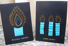 16 Diwali Crafts for Kids hand stitched diwali cards Handmade Diwali Greeting Cards, Diwali Cards, Diwali Greetings, Diwali Diy, Diwali Wishes, Handmade Cards, Handmade Gifts, Diwali Activities, Creative Activities For Kids